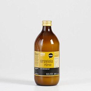 Graviola Saft in brauner Flasche